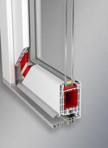 dverový profil Aluplast Ideal 4000
